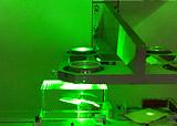 Лазерная установка для нанесения изображений в стекле